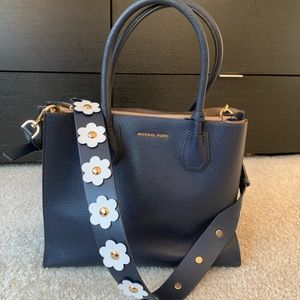 Mercer Michael Kors bag with daisy strap